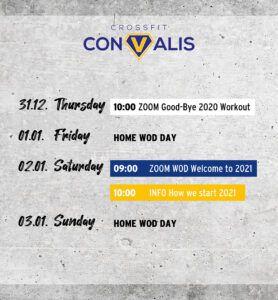 Convalis Timetable